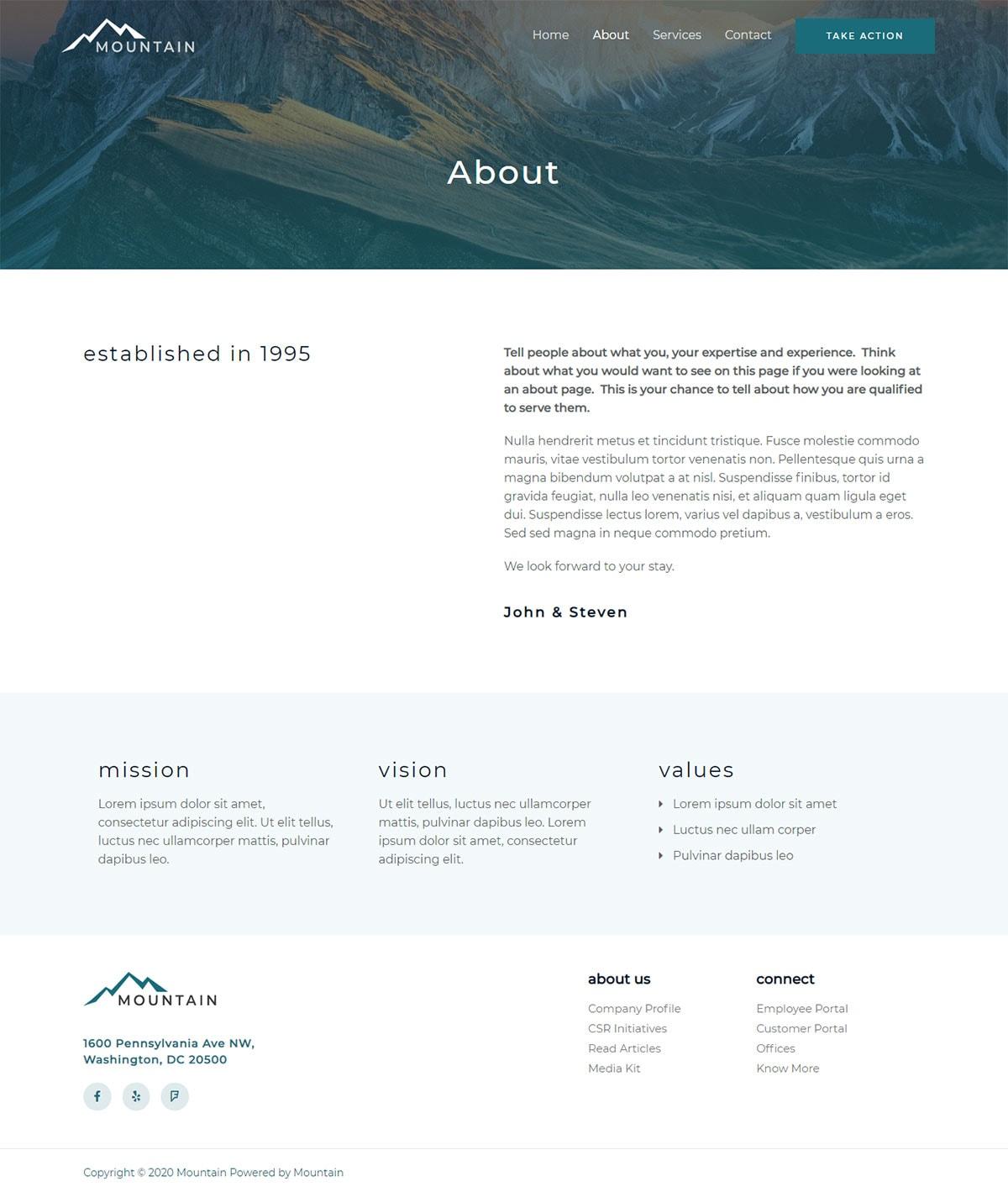 Готовый сайт туристической фирмы. Создание сайтов в Костроме