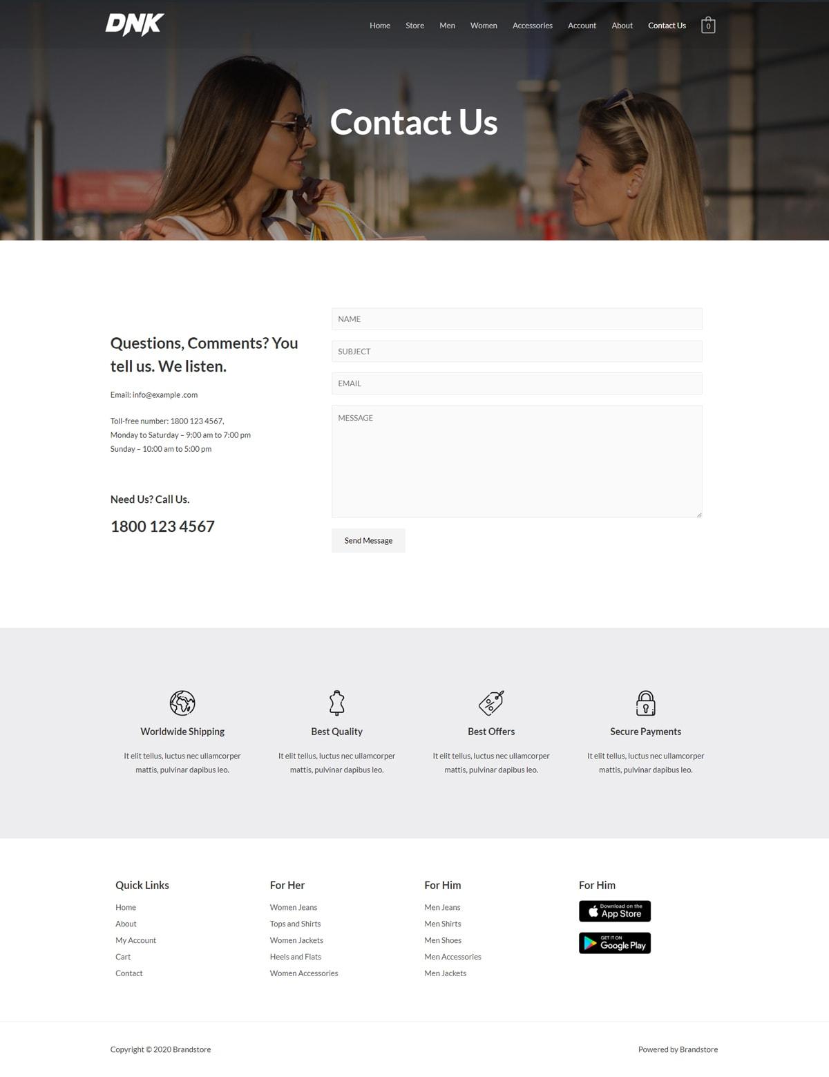 Готовый интернет-магазин одежды. Создание сайтов в Костроме