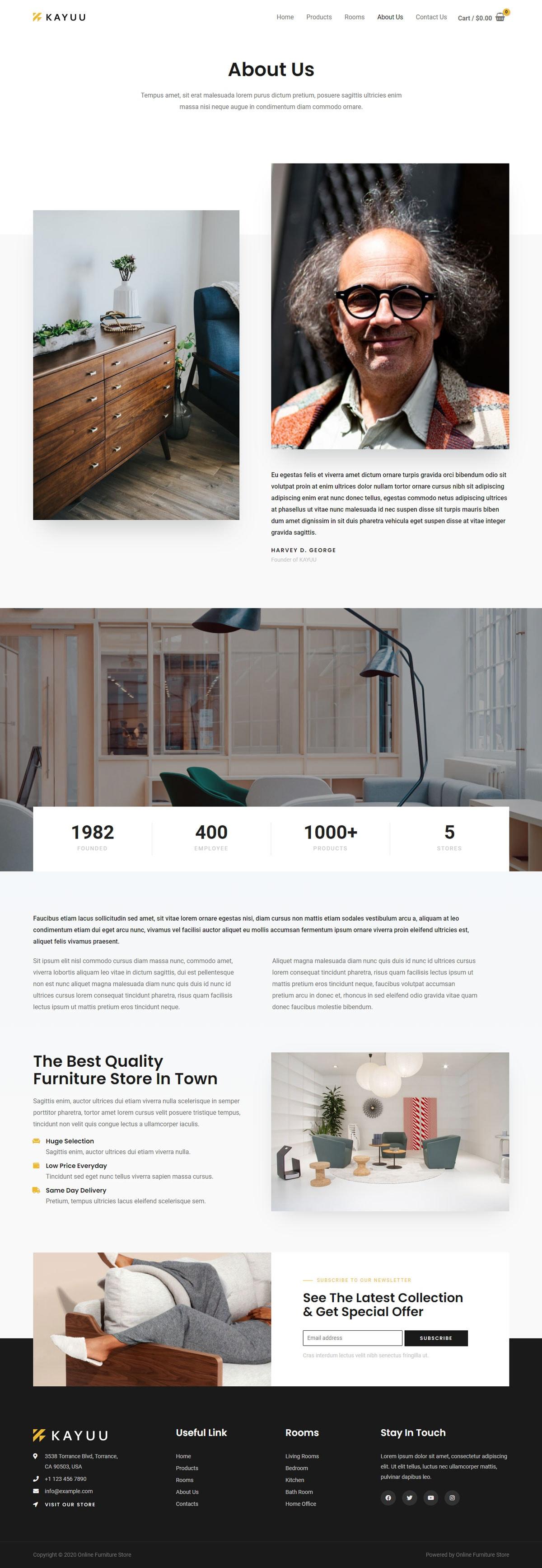 Готовый интернет-магазин мебели. Создание сайтов в Костроме